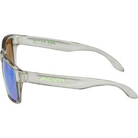 Rudy Project Spinhawk Glasses crystal ash - rp optics multilaser green